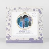 winter tree crossstich kit