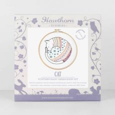cat embroidery kit 2